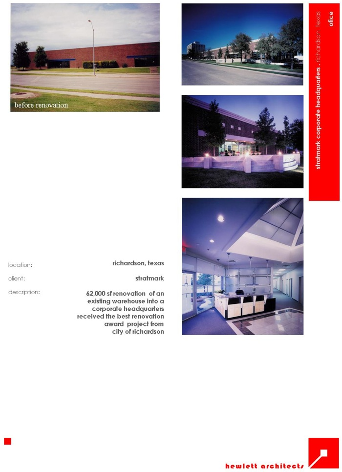 Hewlett Architects: Projects